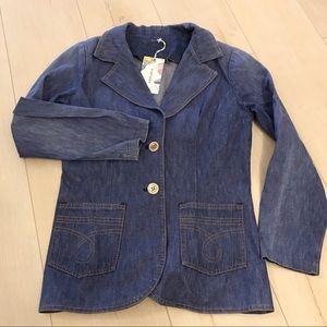 Vintage ModCloth Denim Blazer